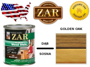 Bejca Do Drewna ZAR ULTRA  0,236l Kolor 127 golden oak