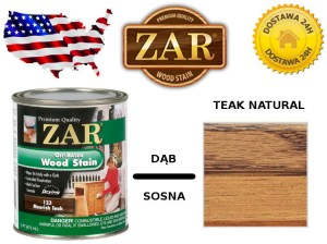 Bejca Do Drewna ZAR ULTRA  0,946l Kolor 120 teak natural
