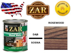 Bejca Do Drewna ZAR ULTRA  0,236l Kolor 124 rosewood