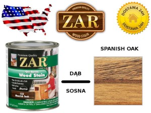 Bejca Do Drewna ZAR ULTRA  0,946l Kolor 137 White Oak