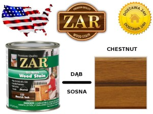 Bejca Do Drewna ZAR ULTRA  0,236l Kolor 126 chestnut