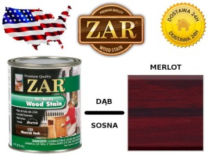 Bejca Do Drewna ZAR ULTRA  0,946l Kolor  140 merlot