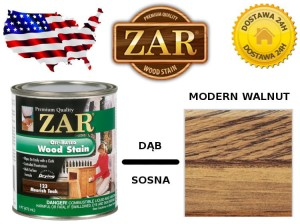 Bejca Do Drewna ZAR ULTRA  0,946l Kolor 115 modern walnut