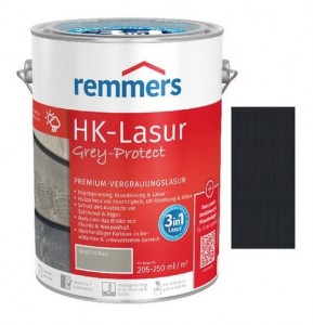 Remmers Hk-lasur Antracytowy 5L lazura do drewna Grey-protect